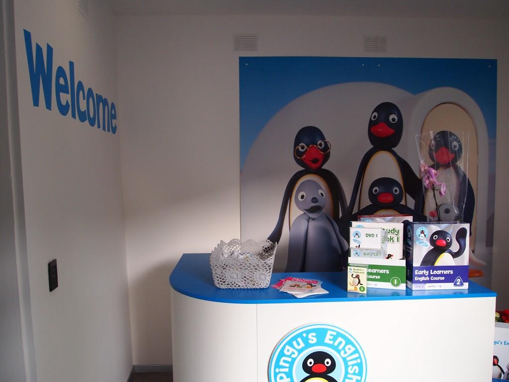 Benvenuti alla Pingu's English School di Firenze
